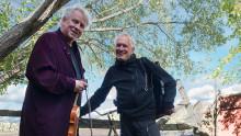 Knasig och fantastisk musik med Matti Andersson och Nils-Erik Sparf!