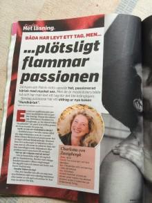 """Förlagsnytt -  """"Båda har levt ett tag - Plötsligt flammar passionen"""" skriver Expressen om nya relationsromanen Hundkärlek"""