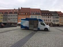 Beratungsmobil der Unabhängigen Patientenberatung kommt am 8. August nach Schweinfurt.