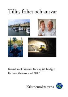 Budget 2017 - framsida