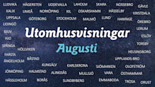 Se film utomhus i augusti