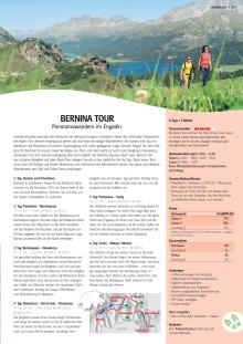 Tourenbeschrieb Bernina Tour