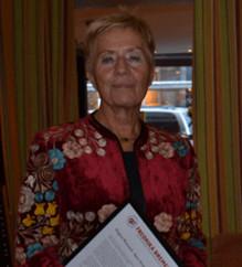 Birgitta Wistrand vald till Årets Fredrika
