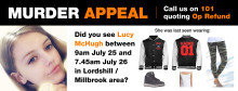 Lucy McHugh murder investigation: Saints fans can play their part