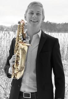 Gyllene saxofontoner av nyexaminerad Diplomsolist!