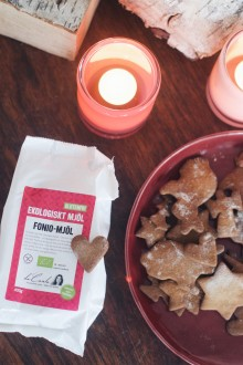 Julbaka glutenfritt med vårt fonio-mjöl!