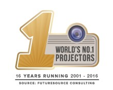 Press Release: Epson named world's number one projector brand for 16 consecutive years