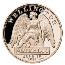 500 000 free campaign medals available to the public in commemoration of the 200th Anniversary of the Battle of Waterloo