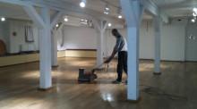 Lyckad golvslipning av Briggen Tre Kronors konferenslokaler
