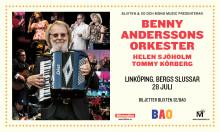 Benny Anderssons Orkester med Helen Sjöholm och Tommy Körberg till Linköping