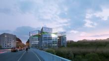 Stadsbyggnadsnämnden godkänner utvecklingsförslaget för Trygg Hansa- huset