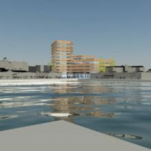Starka Betongelement tar hem stororder och bygger Malmö högskolas nya portalbyggnad