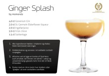 En Ginger Splash, tak!