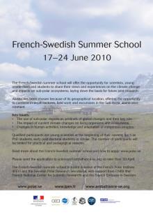 Sommarskola om klimatförändringar och subpolara ekosystem i Abisko