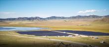 RadiPac kyler känslig teknik i solpark på stäppen i Sibirien