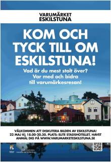 Dags för invånarna att tycka till om bilden av Eskilstuna