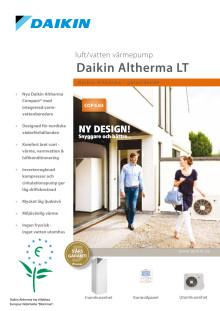 Produktblad Daikin Altherma golvstående