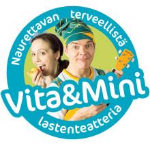 Vita & Mini naurettavan terveellistä lastenteatteria