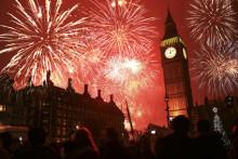 Rekordresande i nyår – London mest populärt