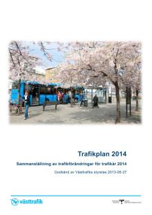 Trafikplan 2014