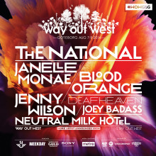 Flera internationella stjärnor till Way Out West 2014! The National, Janelle Monáe, Neutral Milk Hotel m.fl.