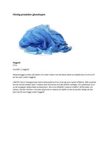 Förslag på produkter från UNICEFs gåvoshop