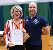 Carina Ödman blir Årets Idrottslärare
