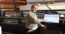 Megaprint først med HP Latex3000 fra HP