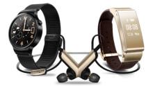 Huawei lancerer nye elegante TalkBand wearables, Huawei Watch og Mediapad X2 på Mobile World Conference 2015