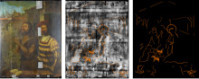X-ray in a manger - centuries old nativity discovered during painting investigation