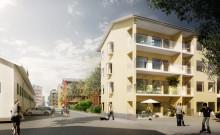 Godkänd detaljplan för 150 lägenheter och ett nytt parkeringshus vid Dragonfältet