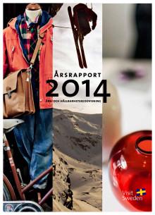 VisitSwedens års- och hållbarhetsredovisning 2014