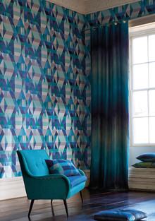 Ny färgglad tapetkollektion med etniskt inspirerade mönster