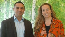 Helena Sjöberg and Mohamed Maher share their experience from Mitt Livs Chans