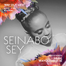 Seinabo Sey till Stay Out West Exklusiv spelning i sommar