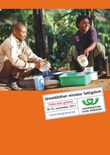 Rapport: Jämställdhet minskar fattigdom