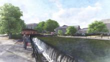 Fiskpassage byggs i centrala Västerås