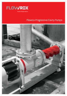 Flowrox Progressive Cavity Pumps