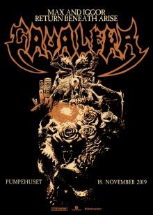 Sepulturas Max & Iggor Cavalera kommer til København 18. november