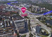 HSB får markanvisning och bygger Stockholms nya landmärke i Hagastaden