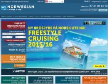 Norwegian Cruise Line med ny norsk nettside!