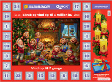 """""""Snød"""" med skrabejulekalender – og blev en million kroner rigere"""