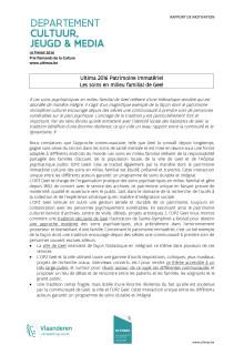 rapport de motivation Ultima 2016 patrimoine immatériel