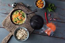 Det ska vara enkelt att laga vegetariskt - Vegetariska Snabbkassen är här