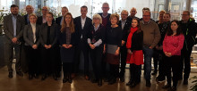 Trafikutskottet på besök hos Green Cargo i Hallsberg