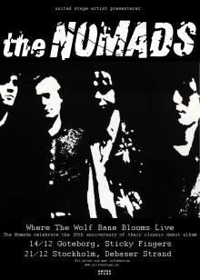 The Nomads firar sitt debutalbums 30-årsjubileum med två unika konserter