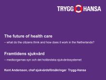 Trygg-Hansas presentation Almedalen