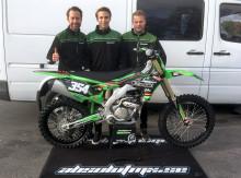 Kawasaki Sverige - Team Green signar MX2-förare
