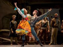 Evénement sur le canal Ultra HD de FRANSAT, avec la diffusion du ballet « Le Corsaire » le 2 avril, en partenariat avec ARTE