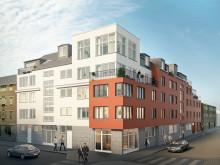 HSB bygger nya bostäder i centrala Nyköping